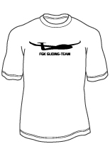 fk gliding team t-shirt