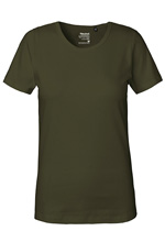 neutral schweres damen interlock bio t-shirt