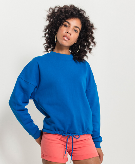 damen oversized sweatshirt